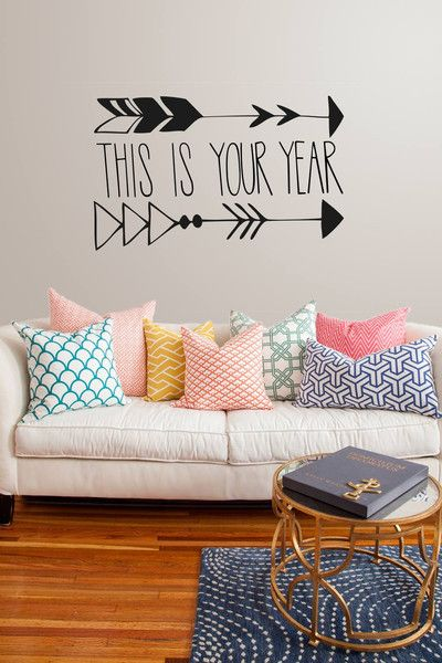 2014...this is your year. Motivational and inspirational wall sticker