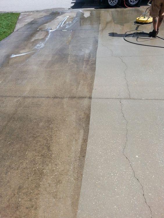 Pinterest the world s catalog of ideas for Concrete sidewalk cleaner
