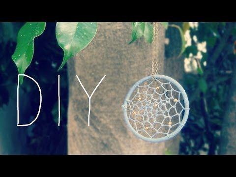 DIY: collar de atrapasueños - YouTube