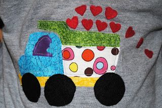 Boys Valentine's Shirt