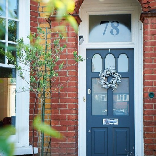 Victorian front door | Take a tour around Agnieszka's eclectic Victorian home | housetohome.co.uk