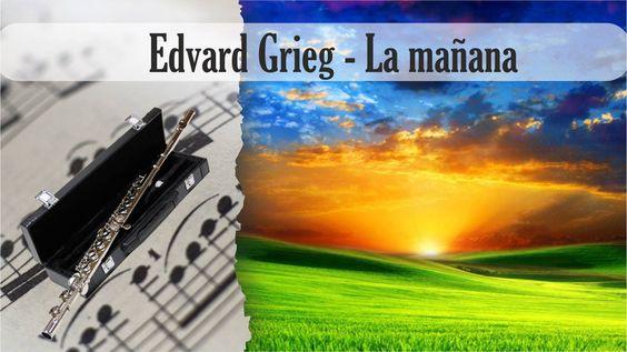 Partitura Edvard Grieg - La mañana Flauta Traversa