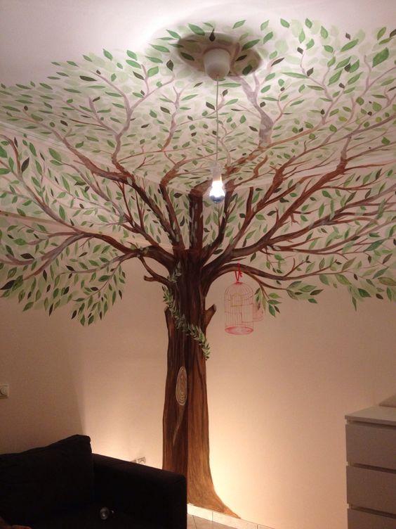The tree of LiFe... Το παιδικό δωμάτιο της Ελένης! Handmade Art by Vasilis Michopoulos