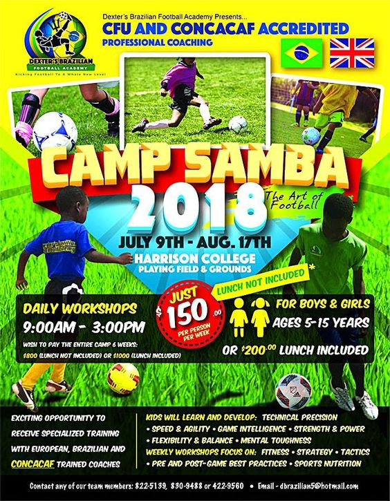 Barbados summer camps