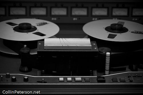 JH-24 - Analog Tape Machine - Creative Caffeine Studio by Collin_Peterson, via Flickr