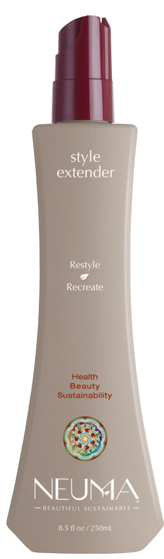 Lightweight refreshing spray saves valuable time by helping restyle with ease. Mist on dry hair to recreate favorite look using hot tools.  Hydrates while penetrating cuticle to strengthen and helps prevent damage to the hair.