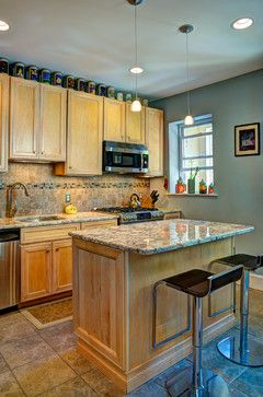 DC Row Home Addition - Kitchen eclectic-kitchen