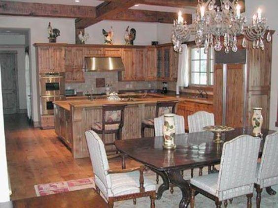 Modern Furniture , Modern Bedroom , Modern Kitchen , Luxury Bedding: Rustic Kitchen Design