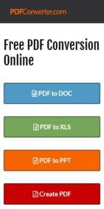 The Unconventional Guide for Versatile Online PDF Conversion!: