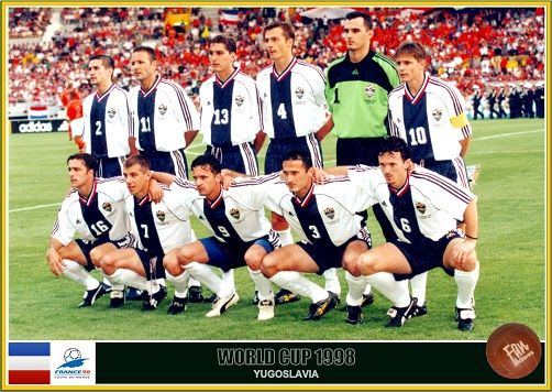 Fan Pictures 1998 Fifa World Cup France Yugoslavia Team World Cup Fifa World Cup France Fifa