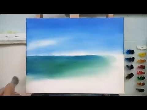 Yagli Boya Deniz Nasil Yapilir Youtube Resimler Tablolar Sanat