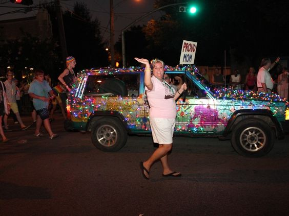 Proud Moms and Dads walked in the Houston Pride 2012 Parade to show their support for their gay children.