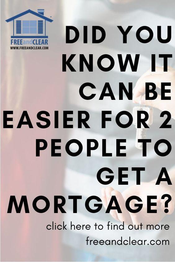 Two Person Mortgage Qualification Calculator Freeandclear Mortgage Tips Mortgage Mortgage Help