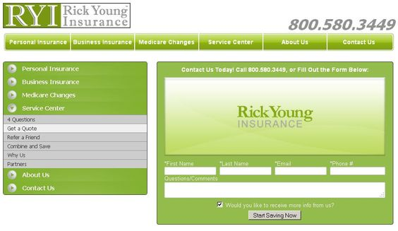 Rick Young Insurance Call us to get a free quote! http\/\/www - medicare form