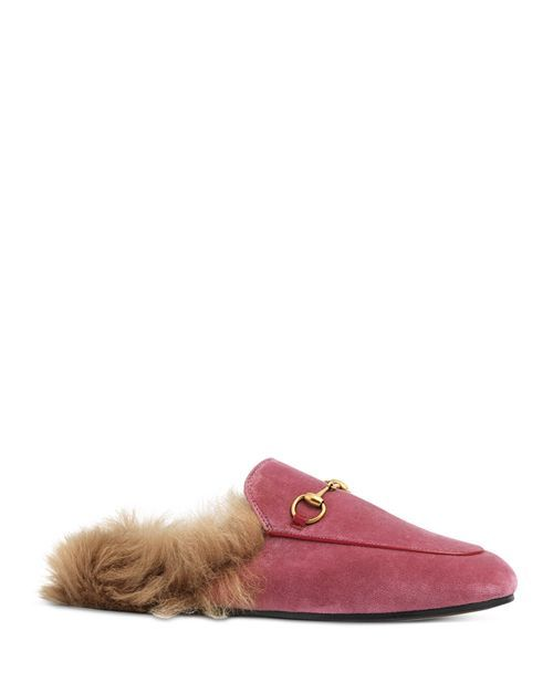 Gucci Women's Princetown Velvet and