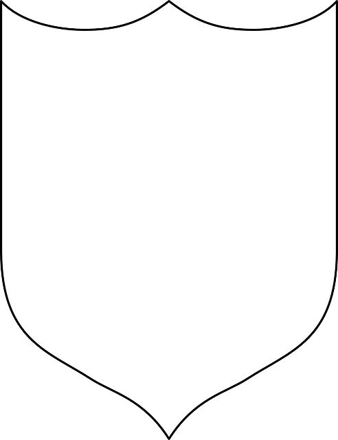 shield template to print - easy knights costume no sew knight knight shield and