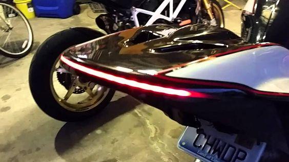 Custom ducati monster 1100 evo tail light