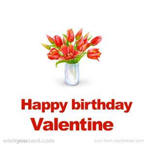 Happy Birthday, Valentine!