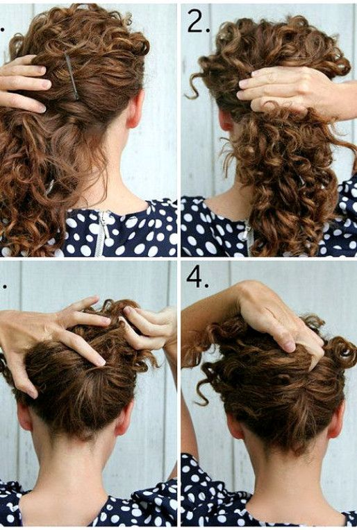 19 Naturally Curly Hairstyles For When You Re Already Running Late Curly Hair Styles Naturally Curly Hair Styles Curly Hair Photos