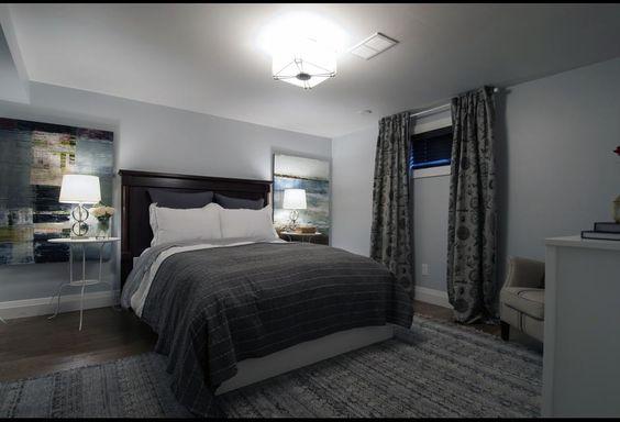 Basement Master Bedroom Photos Hgtv Canada Bedroom Inspiration Pinterest Grey Walls L
