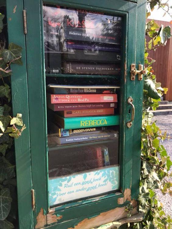 Boekenruilkast Heusden Destelbergen