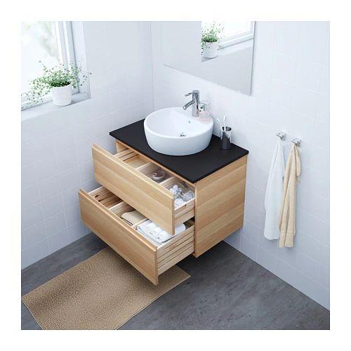 IKEAの洗面台GODMORGONを設置してオシャレ&清潔なバスルームを実現
