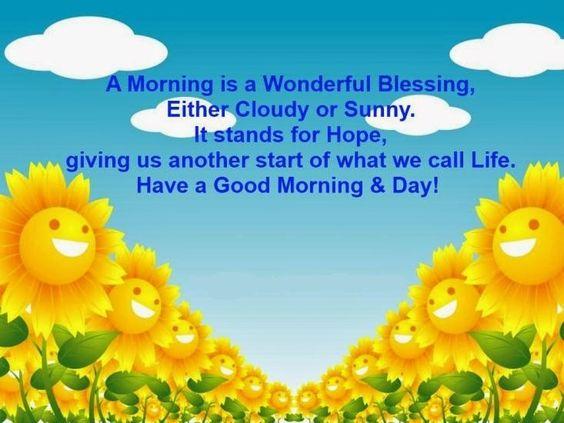 #morning #cloudy #sunny #goodmorning
