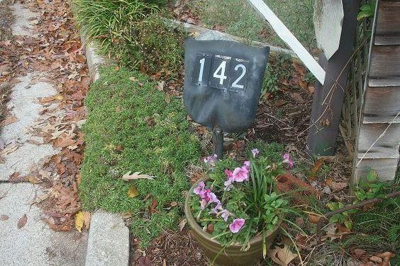 unique address sign