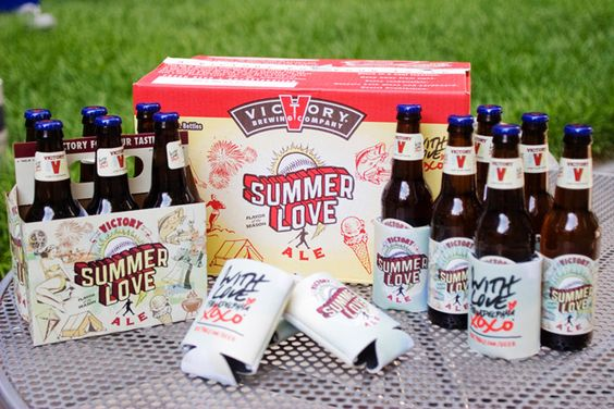 Summer Love Ale Is Back For 2012: The Award-Winning Local Craft Beer From Victory Brewing And With Love, Philadelphia XOXO®. #work