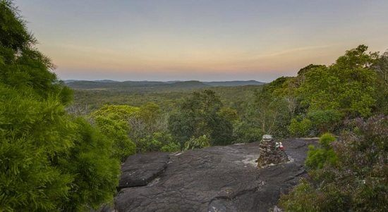 Công viên quốc gia rộng lớn ở trên cao nguyên Borkor