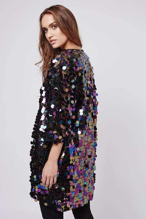 Get the sequins out with a sparkle cardigan | ban.do