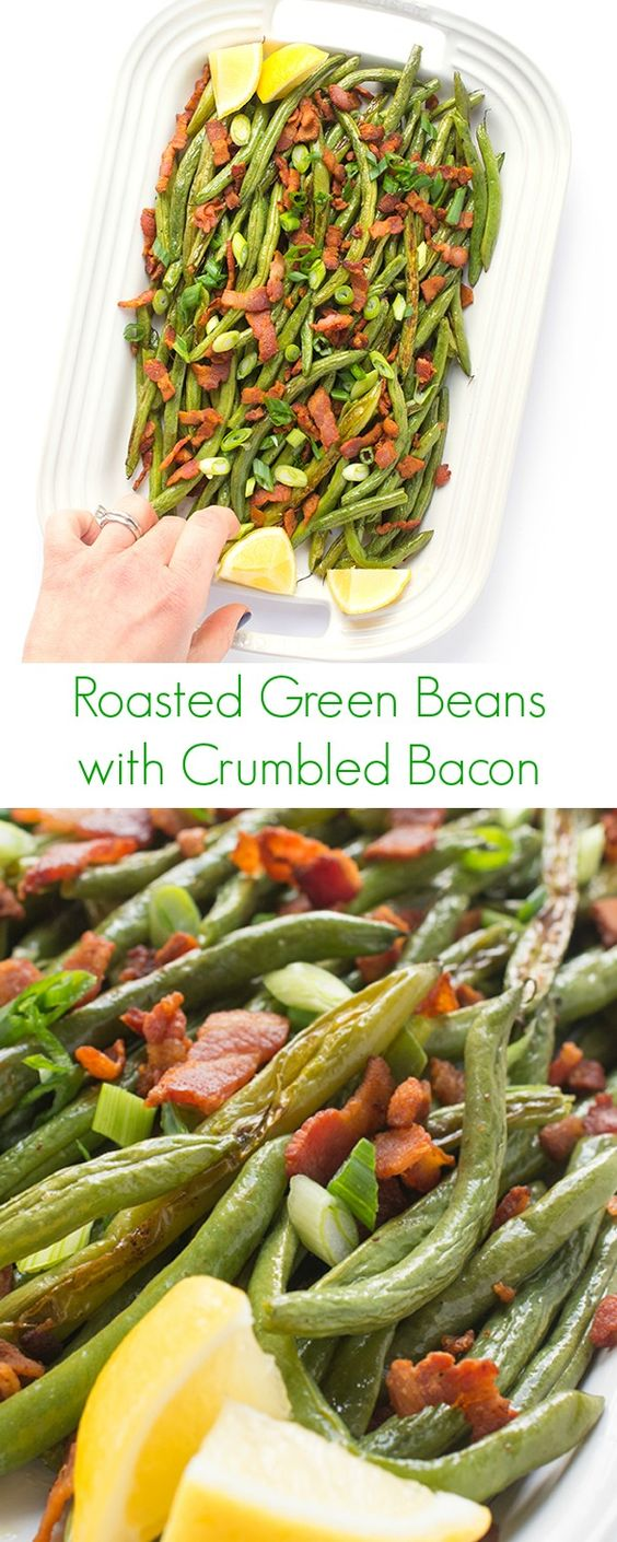 ... Green Beans and Bacon | Recipe | Roasted Green Beans, Bacon