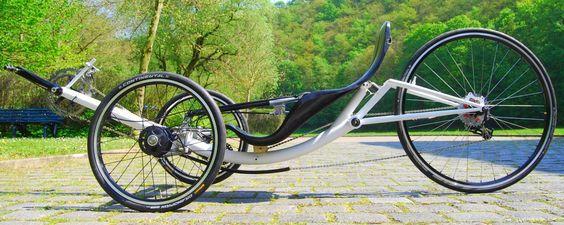 Velomo Hitrike Recumbent Bicycle Bike Design Bicycle Design