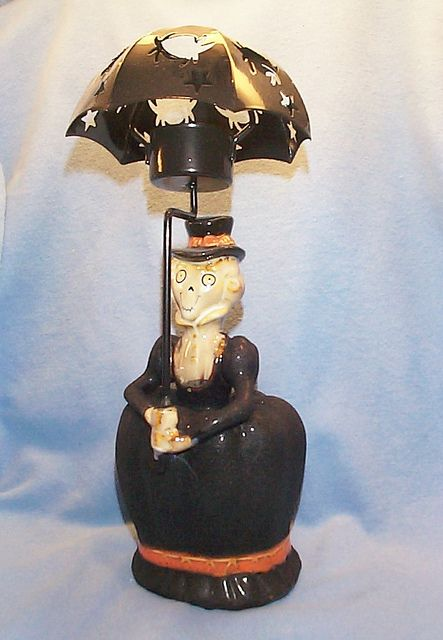 boney bunch 2009 collection | Bunch 2009 Aunt Hilda Umbrella Tea Light Holder | Flickr - Photo ...
