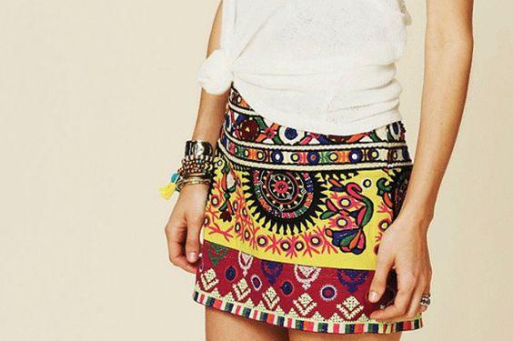 nice & colored skirt