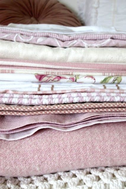Beautiful cottage blankets!