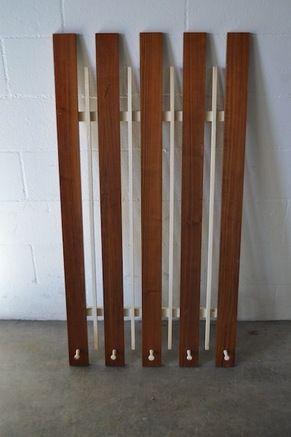 MIDCENTURY MODERN WALL MOUNT COAT RACK Coat Racks Pinterest - Modern coat rack wall mounted