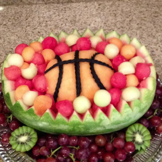 For Quentin's basketball party: