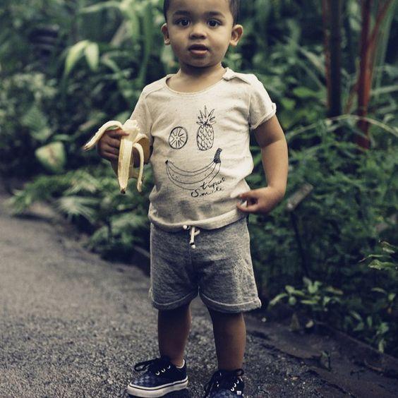 T-shirt Tropical Smile