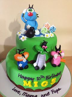 Oggy and the Cockroaches Cake | Kiddie Affairs
