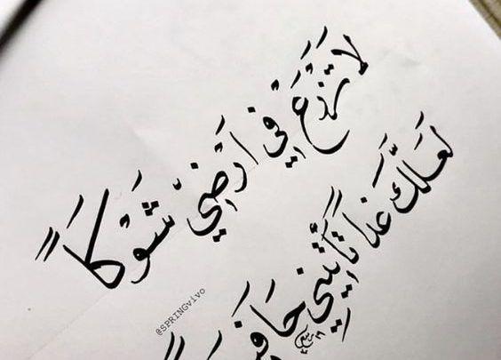 كلام خواطر روعة حكم ومواعظ ونصائح مفيدة جدا Arabic Calligraphy Calligraphy
