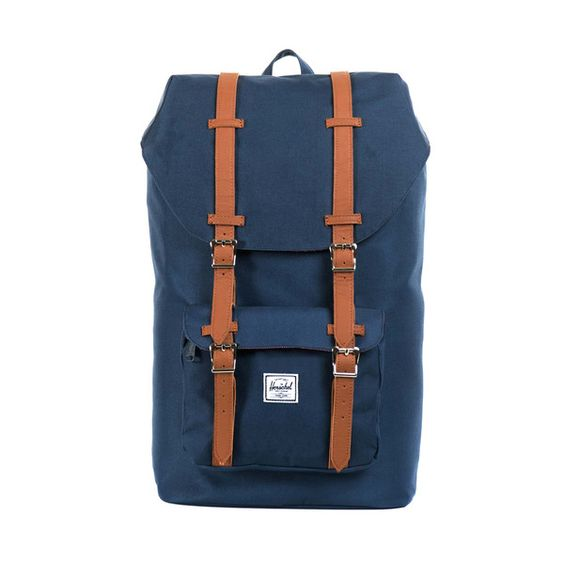 The Little America Backpack is one of our most popular styles. Inspired by classic mountaineering style, this bag has a larger volume and modern styling. Fully