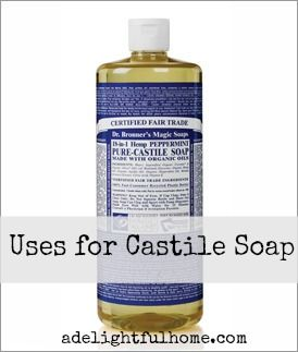 Pure castile soap benefits : Apple pectin