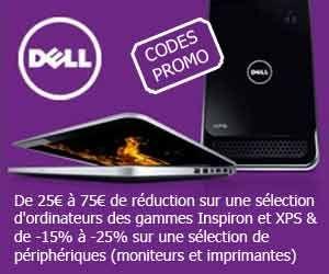 DELL grand public : Déstockage Inspiron à partir de 329 euros + nouveaux codes promo à valoir sur une sélection de PC et de périphériques | Maxi Bons Plans