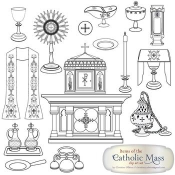 Catholic Mass Clipart , Free Transparent Clipart - ClipartKey