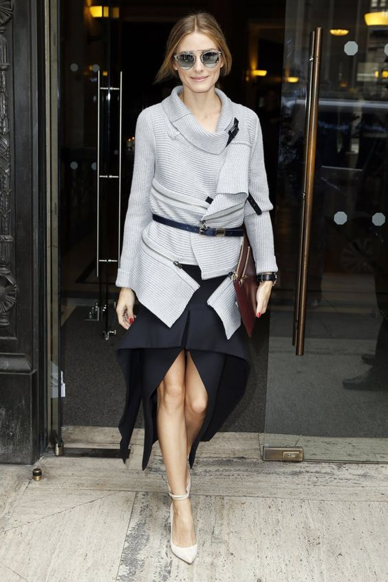 Pin for Later: Olivia Palermo hat sich den Platz in der ersten Reihe verdient London Fashion Week