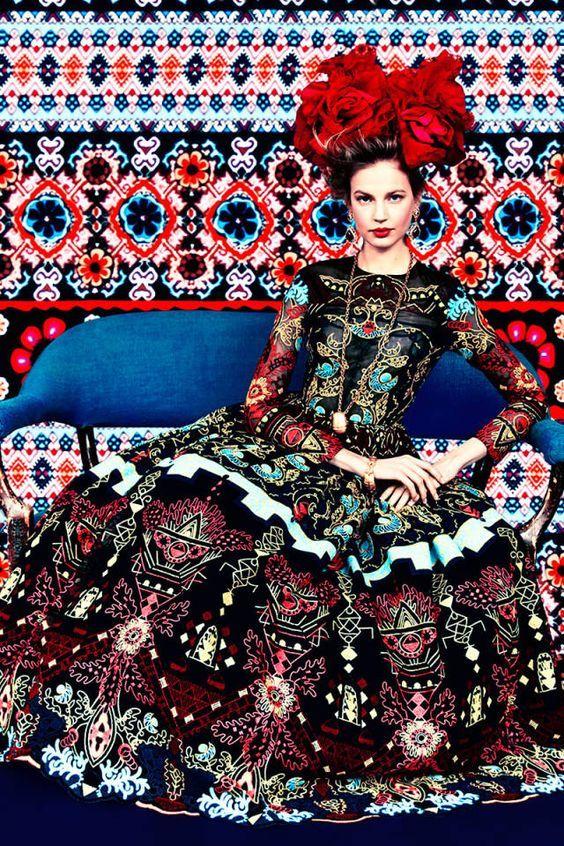 """...""""Cores de Almodóvar, cores de Frida Kahlo, cores""""!:"""