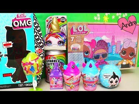 Andre Jugando Con Rompecabezas Lol Surprise Abriendo Juguetes Y Muñecas Omg Youtube Fun Crafts For Kids Fun Crafts Barbie Fashionista