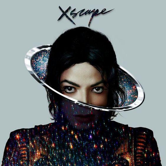 Michael Jackson - Xscape album cover, 2014