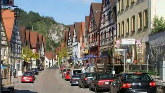 Pottenstein - romantisches Felsenstädtchen in der Fränkische Schweiz.  Went on a vacation there when I was 14.  Going back this summer.